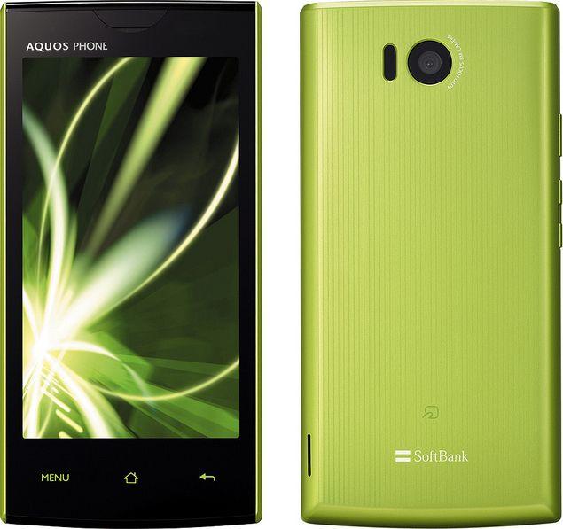 AQUOS PHONE 103SH SoftBank