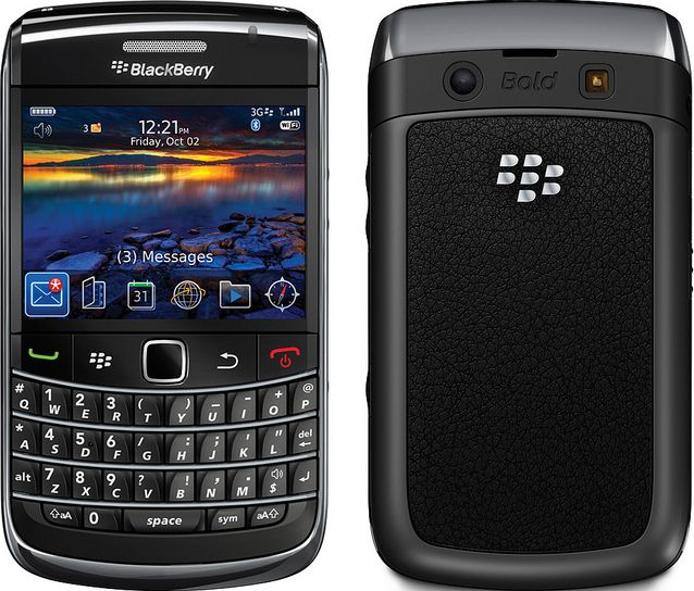 BlackBerry Bold 9700 docomo