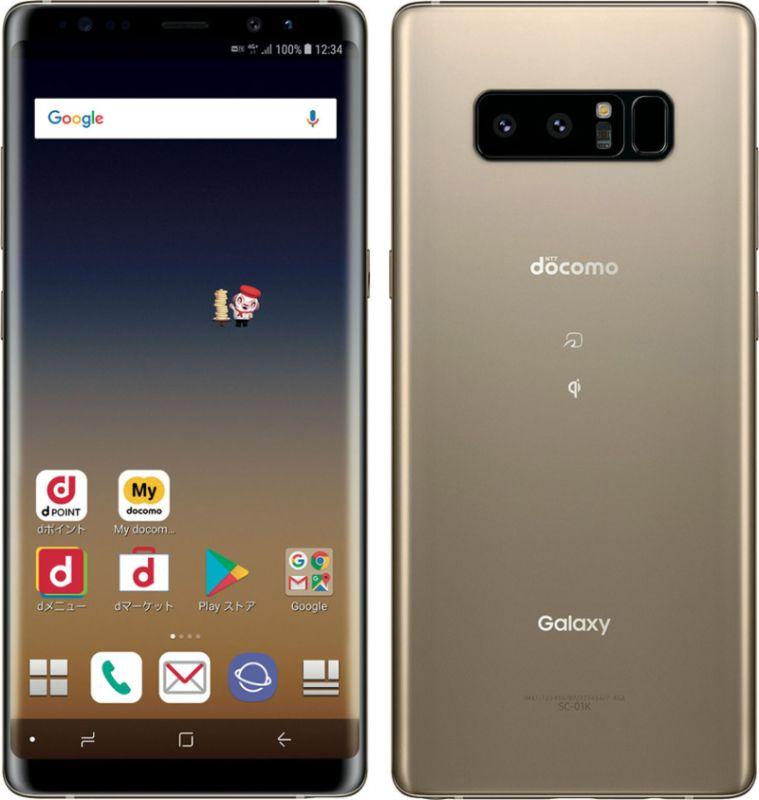 Galaxy Note8 SC-01K docomo